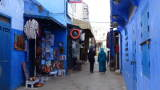 Gasse in Chefchaouen