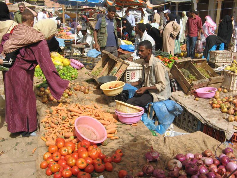 Markt in Erfoud