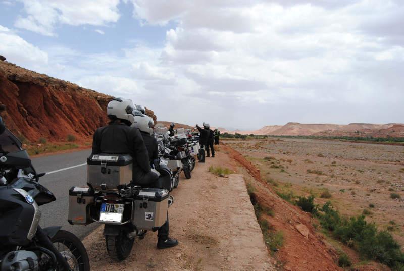 Motorrad Fotostop
