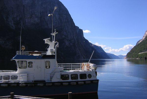 Lysebotn am Lysefjord
