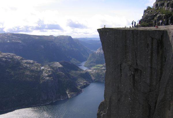 Preikestolen - Felskanzel am Lysefjord