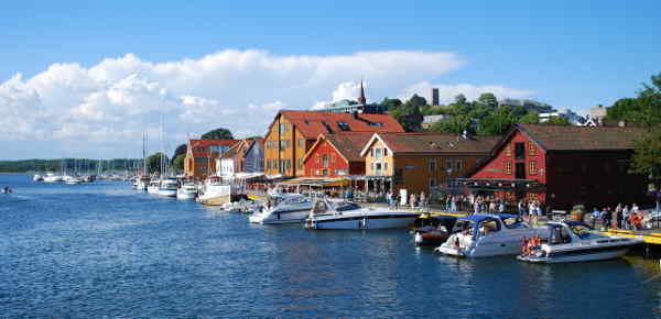 Hafen von Tonsberg