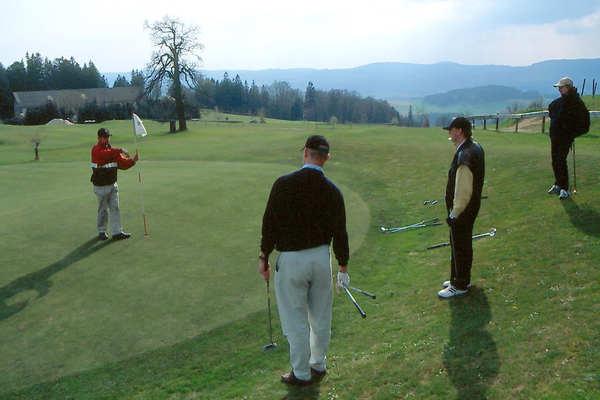Green der Golfschule Böhmerwald