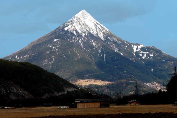 Der Tschirgant - Berg bei Imst, Tirol