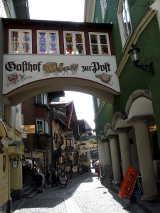 Altstadt Kufstein: Gasthof Post in der Römerhofgasse von Hihawai