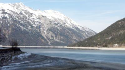 Der Achensee im Februar