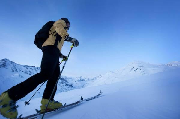 Der Pitztaler Gletscher ist ein Paradies für Skitourengeher