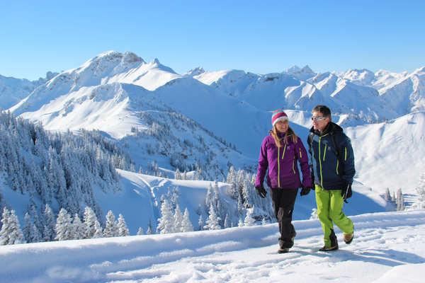 Winterwandern im Tannheimer Tal