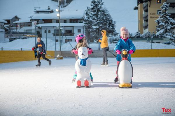 Eislaufplatz in Tux-Lanersbach