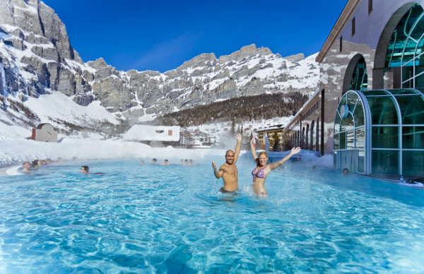 Bild aus Leukerbad: Badespass in der Lindner Alpentherme