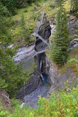 Ausstieg am oberen Ende der Dalaschlucht