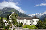 Das Benediktinerkloster Engelberg, gegründet 1120 von Engelberg-Titlis, Fotograf Christian Perret c/o Angelika Hermann-Meier PR