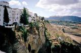 Ronda: Häuser an der Schlucht
