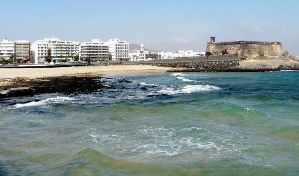 Arrecife & Castillo San Gabriel Meerseite von Hihawai - Klick für Bildrechte