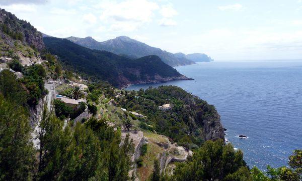 Aussicht vom Torre del Verger: Die Nordwestküste Mallorcas