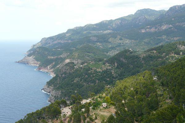 Küste in der Nähe von Estellencs / Mirador Ricardo Roca