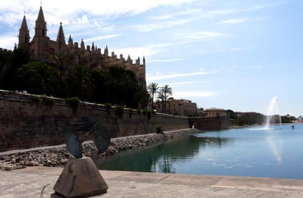 Kathedrale La Seu und Parque del Mar