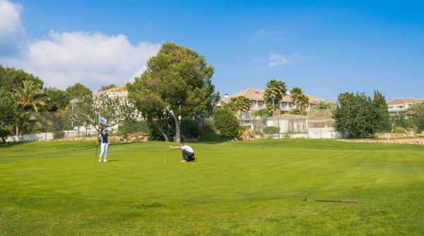 Golfen im Lindner Golf & Wellness Resort Portals Nous mit Pool