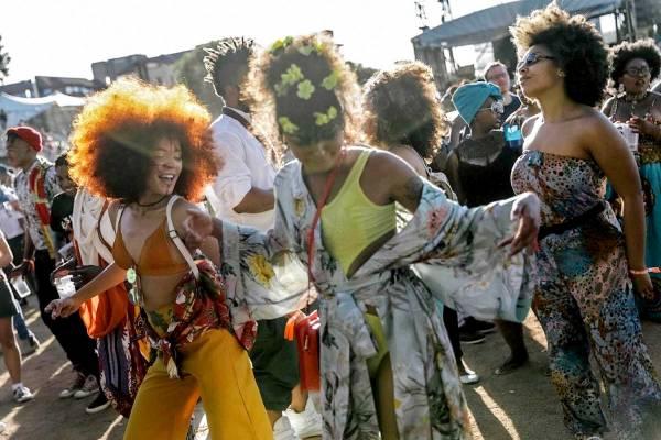 Bild aus : Afropunk Festival Johannesburg
