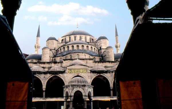 Die Sultan-Ahmed-Moschee (Blaue Moschee)