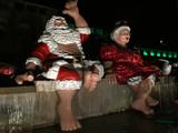 Shaka Santa und Mrs. Claus Mele