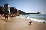 Waikiki Beach von Hihawai