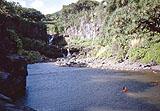 Die Schlucht der Seven Sacred Pools 2 von Hihawai