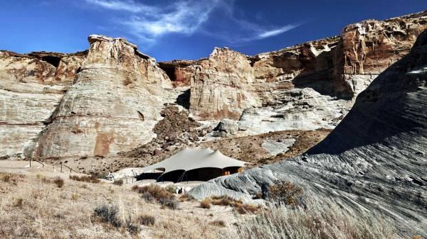 Glamping-Camp Sarika in Utah