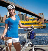 Bike'n Boat: New York Water Taxi von New York Water Taxi, c/o Get It Across Marketing & PR